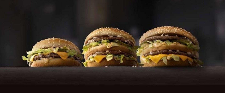 Amerika krijgt nieuwe Big Mac's: Mac Jr. & Grand Mac