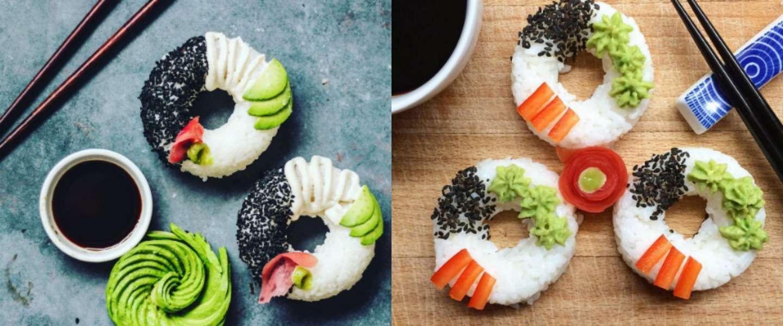 Sushi Donuts zijn hot!