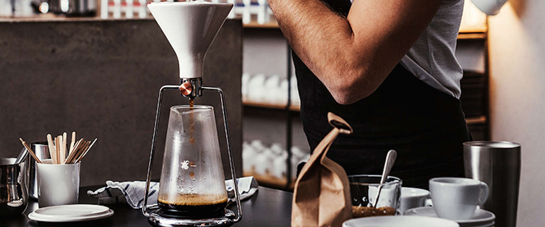 GINA: zelf koffie brouwen in stijl