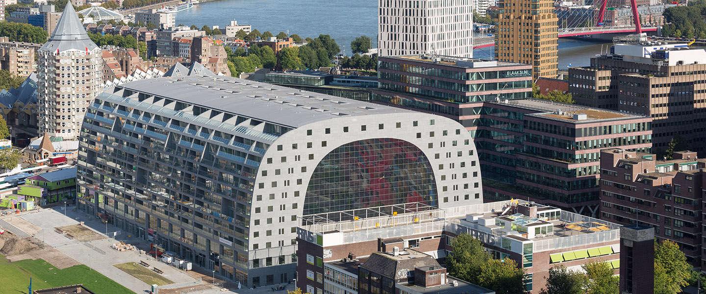Markthal Rotterdam meest bezochte markthal van Nederland