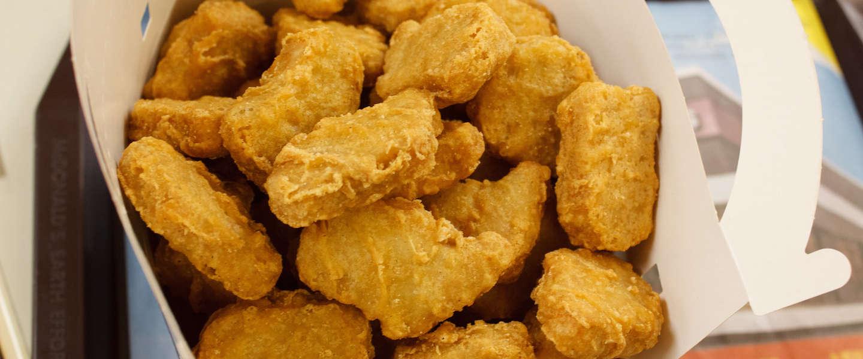 McDonald's in Japan geeft gouden McNugget weg