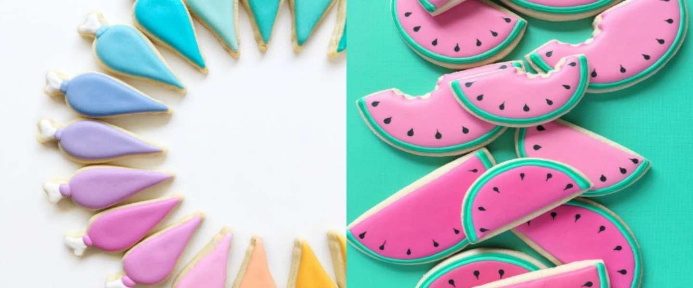 Zo zien koekjes eruit als een grafisch ontwerpster ze bakt