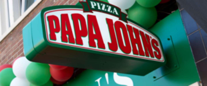 Papa John's Pizza opent eerste vestiging in Nederland