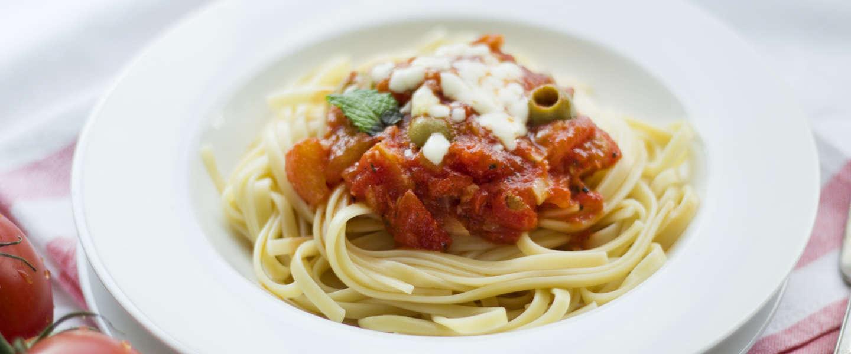 Kun je het verschil proeven tussen pasta van 8 en 100 dollar?