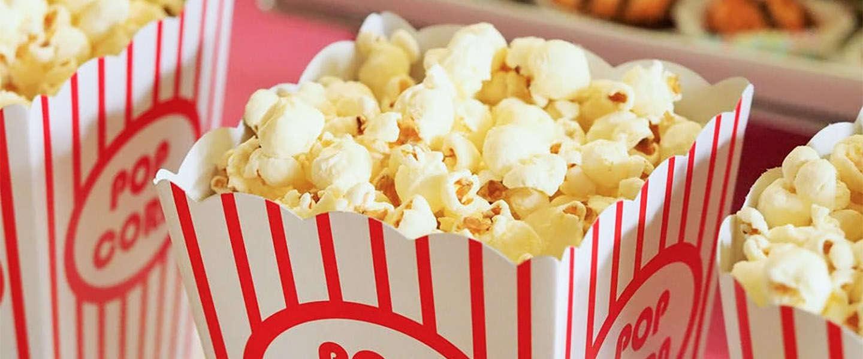 100% natuurlijke en Fairtrade popcorn in 3 verschillende smaken