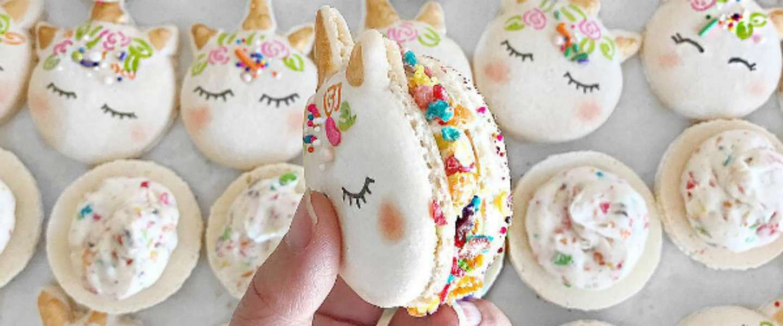 Het beste wat je vandaag gaat zien: Unicorn Macarons