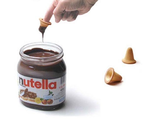 Heerlijke vingerkoekjes nutella