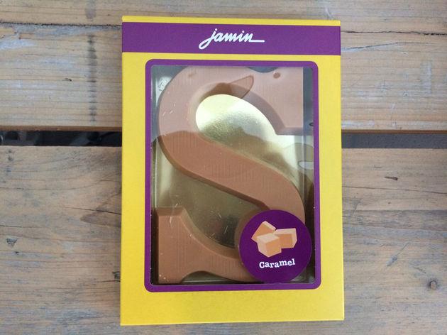 Jamin-chocoladeletter