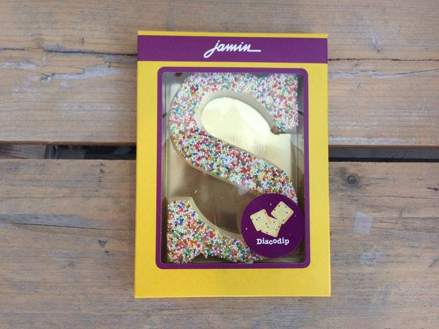 Jamin-chocoladeletters