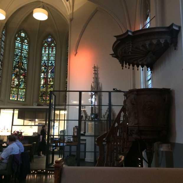 Hotspot: dineren in een oude kerk