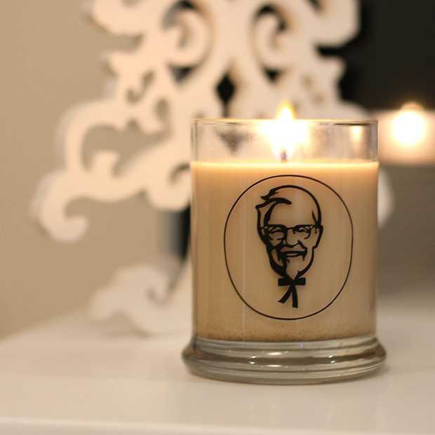 KFC komt met een 'fried chicken' geurkaars