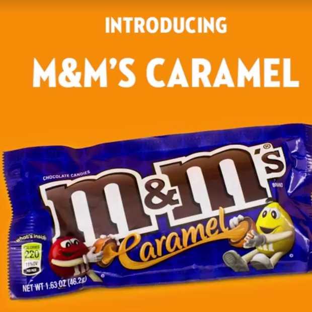M&M's komt met een nieuwe smaak: Caramel