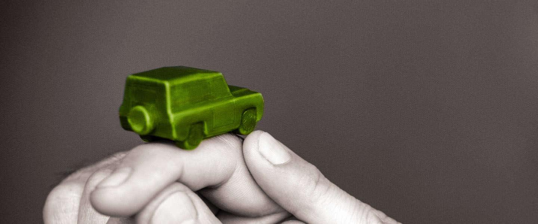 Land Rover Defender van chocolade: chefkoks maken eigen versie