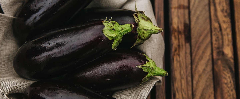 Aubergine; de koning van het comfort food