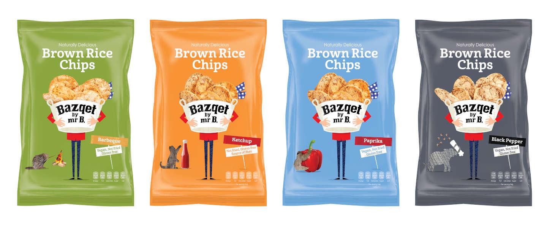 Bazqet introduceert verstandige rijstchips