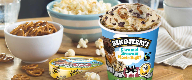 Ben & Jerry's en Pathé slaan handen ineen met nieuwe ijssmaak en filmavond