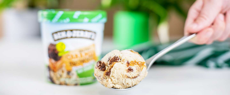 Ben & Jerry's lanceert nieuwe vegan smaak: Salted Caramel Brownie