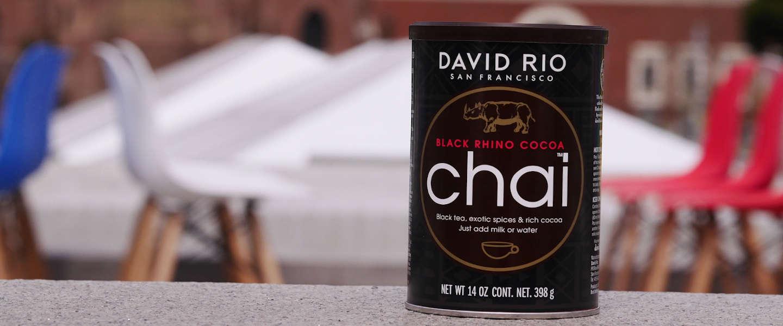 Nieuwe chai-smaak van David Rio verkrijgbaar bij Tea Bar