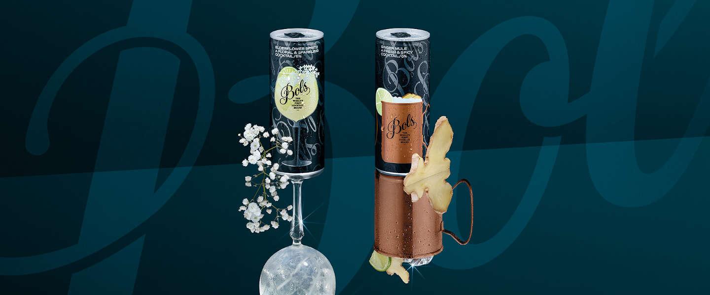 Bols introduceert twee ready-to-drink cocktails in blik
