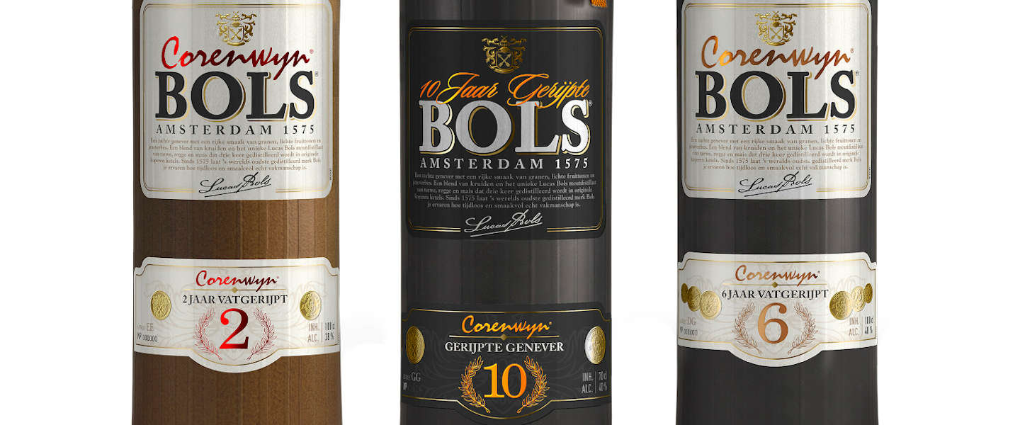 Bols introduceert limited edition 10 jaar gerijpte genever