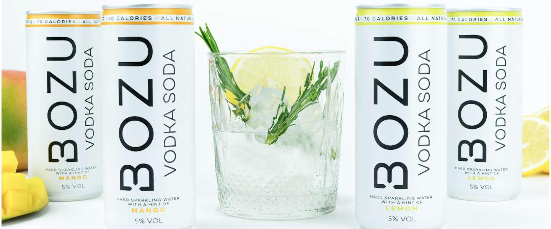 Bozu noemt zichzelf geen hard seltzer maar een vodka soda