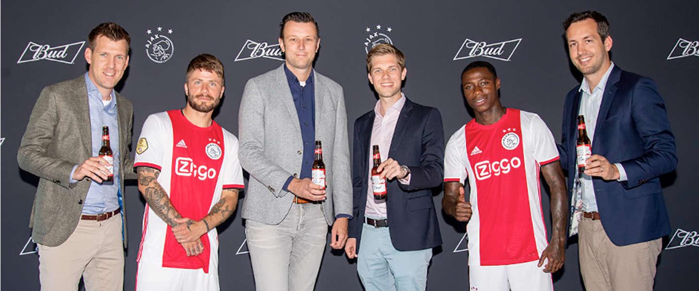 Bud slaat eerste slag en wordt biersponsor Ajax