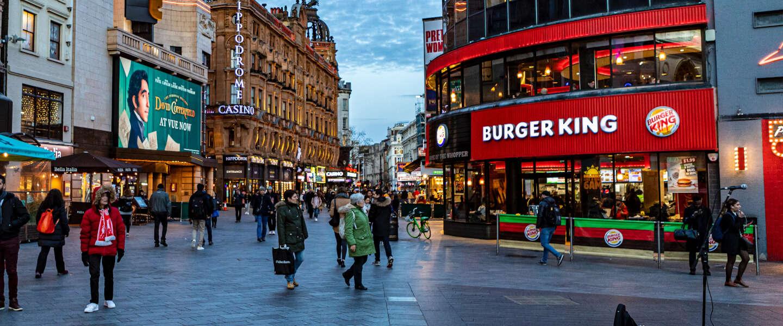 Britse Burger King laat lokale restaurants adverteren op Instagram