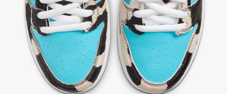 Chunky Dunky: Ben & Jerry's krijgt eigen Nike SB sneakers