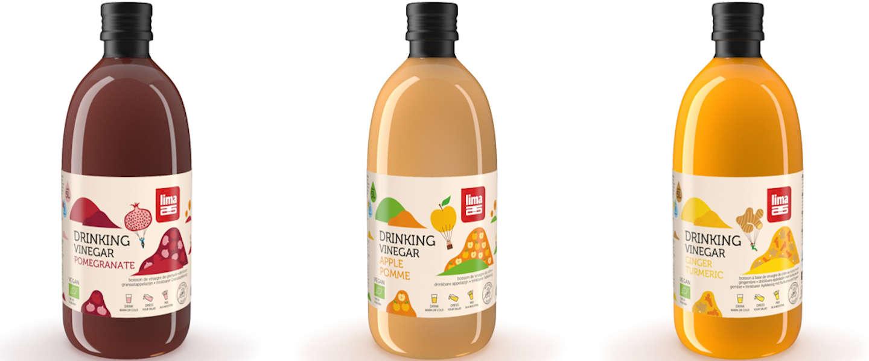Lima brengt nieuwe smaken drinkazijn op de markt