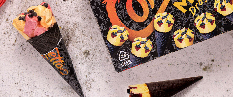 Ola introduceert nieuw limited edition ijsje: de Cornetto Dragon