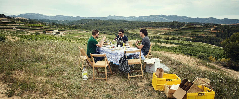 Door 'De wijnboer' wil je meteen koken in een wijngaard
