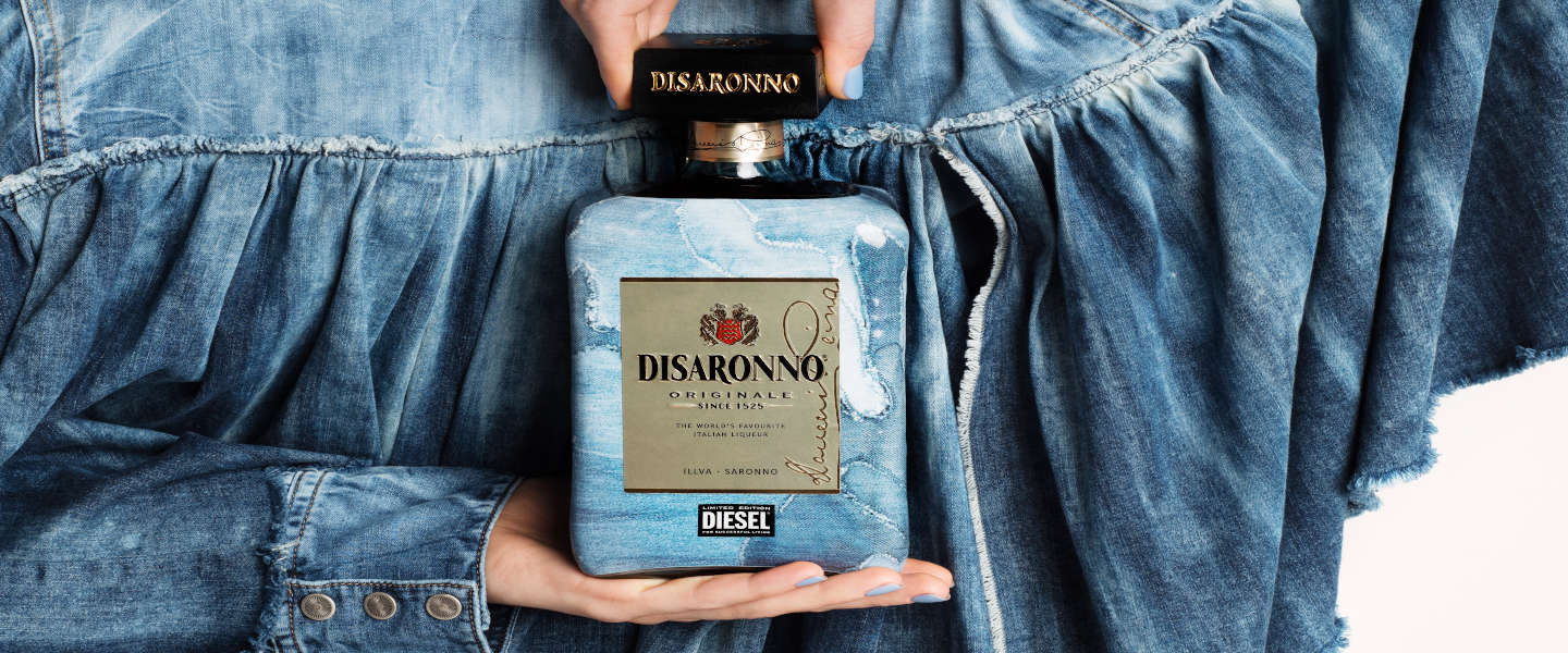 Limited edition Disaronno draagt Diesel