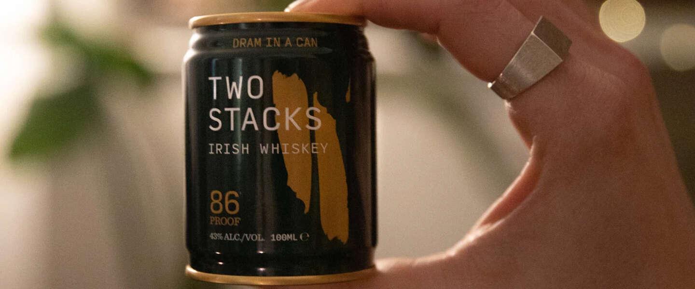 Dram in a Can brengt de wereld voor het eerst Ierse whiskey in blik