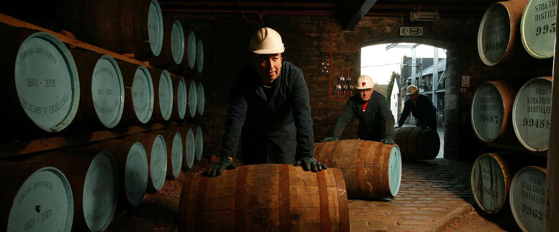 Blended whisky's proeven met de brand ambassador van Chivas Regal