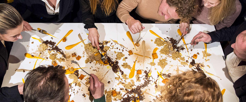 Chef maakt Eetschilderijen: eetbare kunstwerken om te delen