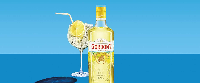 De Sicilian Lemon Gin van Gordon's is een smaakvolle innovatie