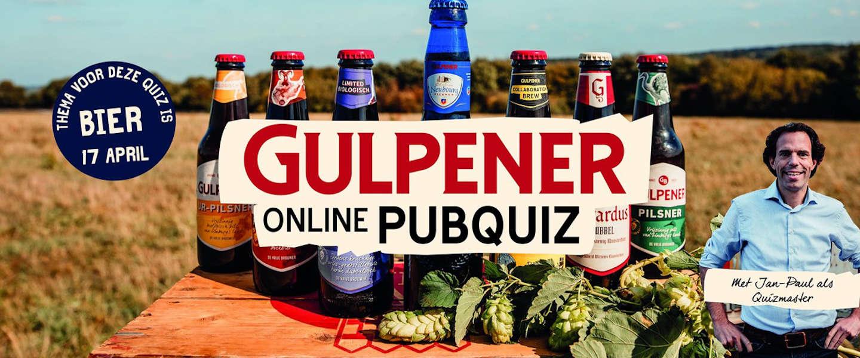 Gulpener organiseert vrijdag 17 april een online pubquiz