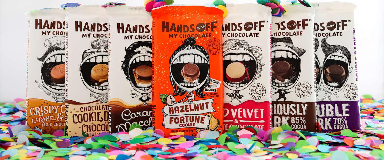 Hands Off My Chocolate wint FoodAward 2020
