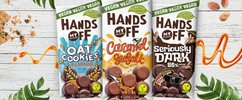 Hands Off My Chocolate introduceert plantaardige Caramel Seasalt reep