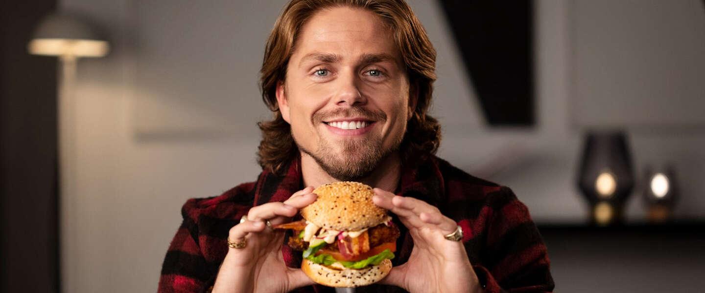 André Hazes jr. heeft eigen hamburger in samenwerking met Cannibale Royale