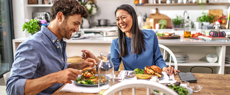 Samenwonen of een break-up; het heeft effect op je eetgewoonten
