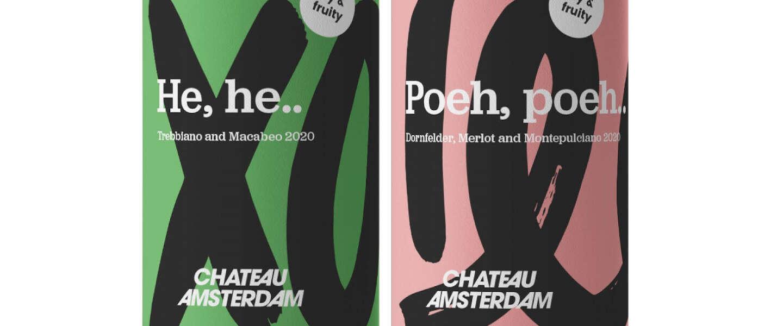 Wijn uit Amsterdam verkrijgbaar bij alle winkels van Hema