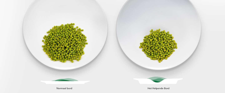 Hak wil kinderen meer groenten laten eten met 'slim' bord