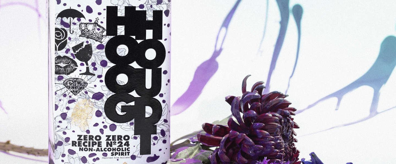 Hooghoudt lanceert non-alcoholische spirit Zero Zero 24