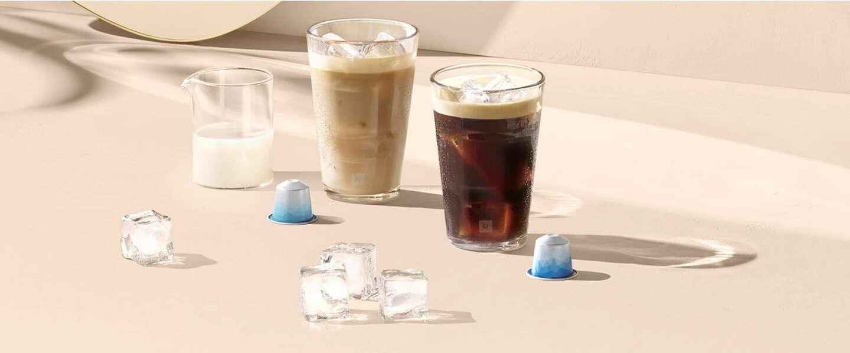 Nespresso lanceert deze zomer speciale koffies om ijskoffie mee te maken