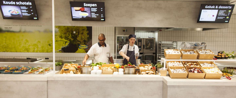 Ikea Amsterdam opent vernieuwd restaurant