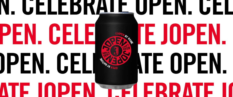 Bierbrouwer Jopen brouwt een bier door en voor Nederland: Open