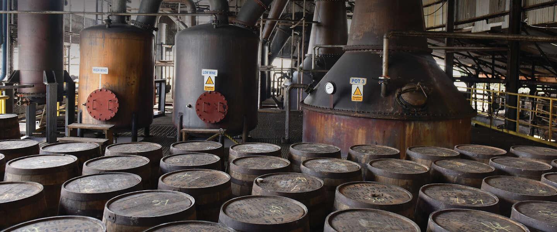 De Jamaicaanse pure rum van Hampden Estate heeft funk
