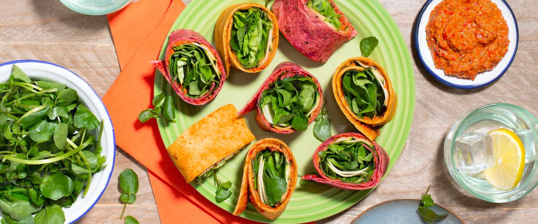 Knorr helpt je meer groente te eten met nieuwe groentewraps