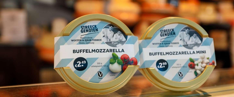Limburgse buffelmozzarella en meer lokale kaasproducten bij Albert Heijn